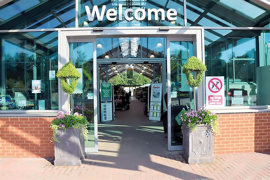 Longacres Bagshot garden centre