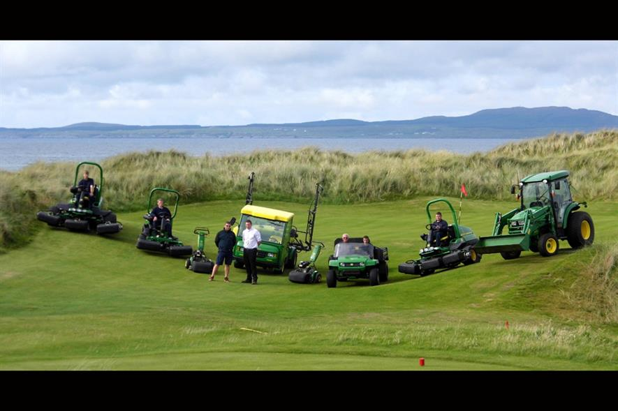 Machrie Golf Links. Image: John Deere
