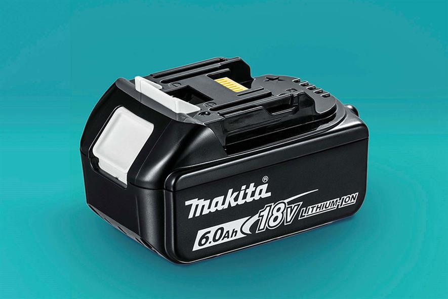 6.0Ah Lithium-ion battery - image: Makita UK