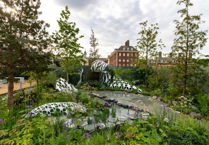The Manchester Garden won a Silver Medal at RHS Chelsea 2019. Image: Marketing Manchester