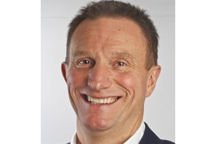 Evergreen Garden Care UK and Ireland managing director Mark Portman