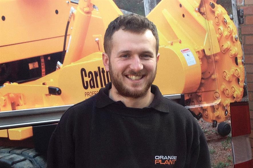 Mark Wilson, depot manager, Orange Plant