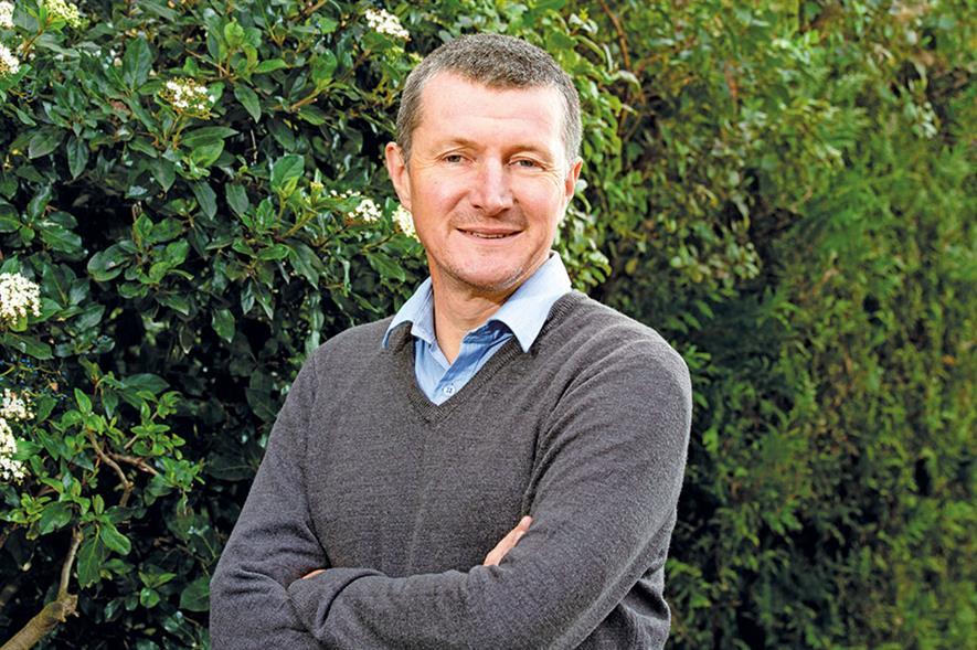 Horticulture Week editor Matthew Appleby