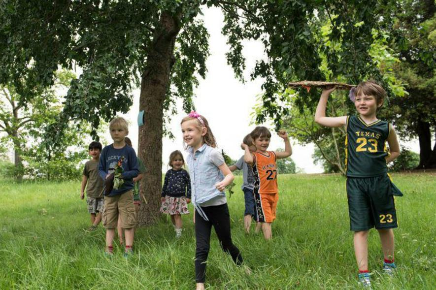 Will London be a National Park City by the time these children grow up? Image: Mayor of London