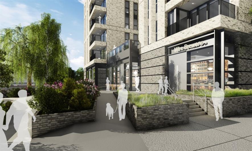 Visualisation of Mitre Yard. Image: Make