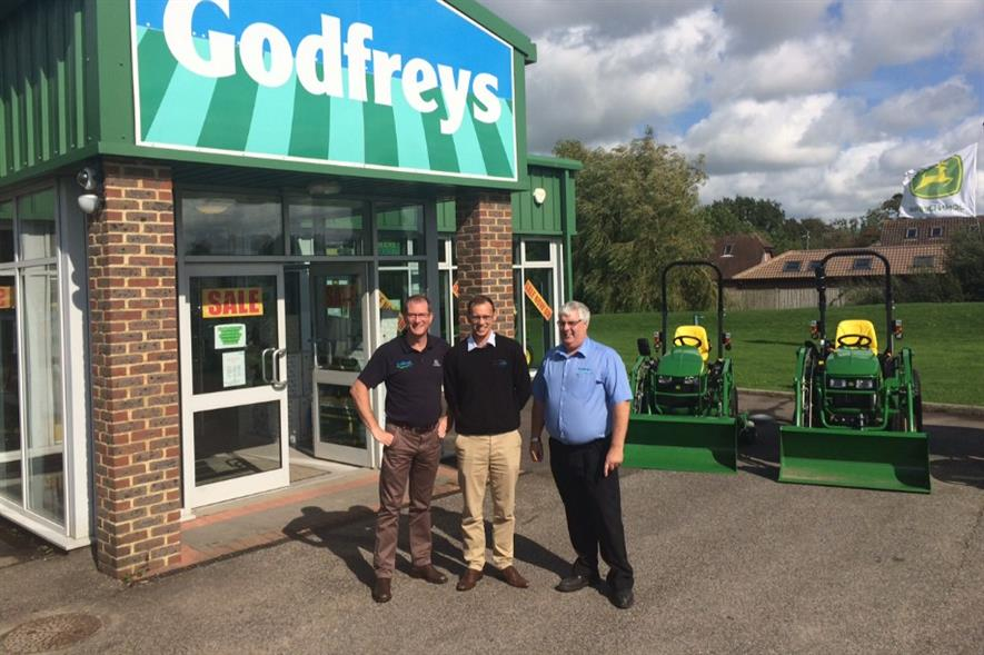 Godfreys has supplied new John Deere equipment to MyTime Active. Image: Supplied