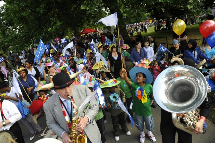 Myatt's Fields Celebration. Image: Lambeth Council