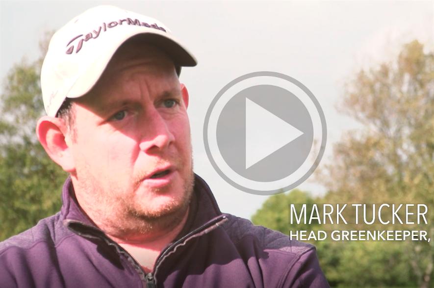 Neath Golf Club head greenkeeper Mark Tucker - credit: Bionema