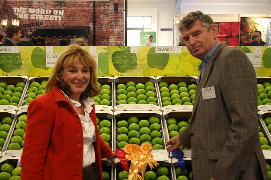 Annette and Nigel Bardsley of Bardsley Farms, member of Mid Kent Growers