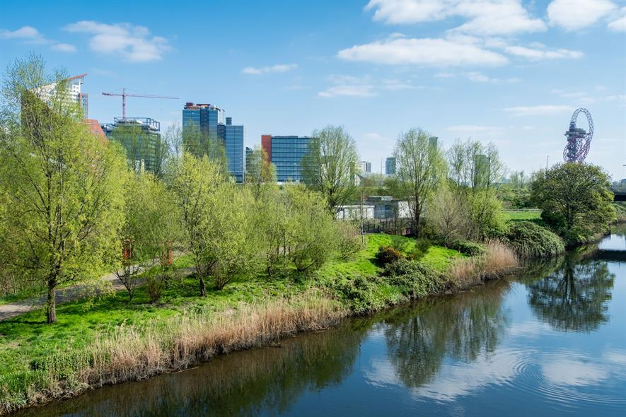 Nature has returned to the former industrial site. Image:HW