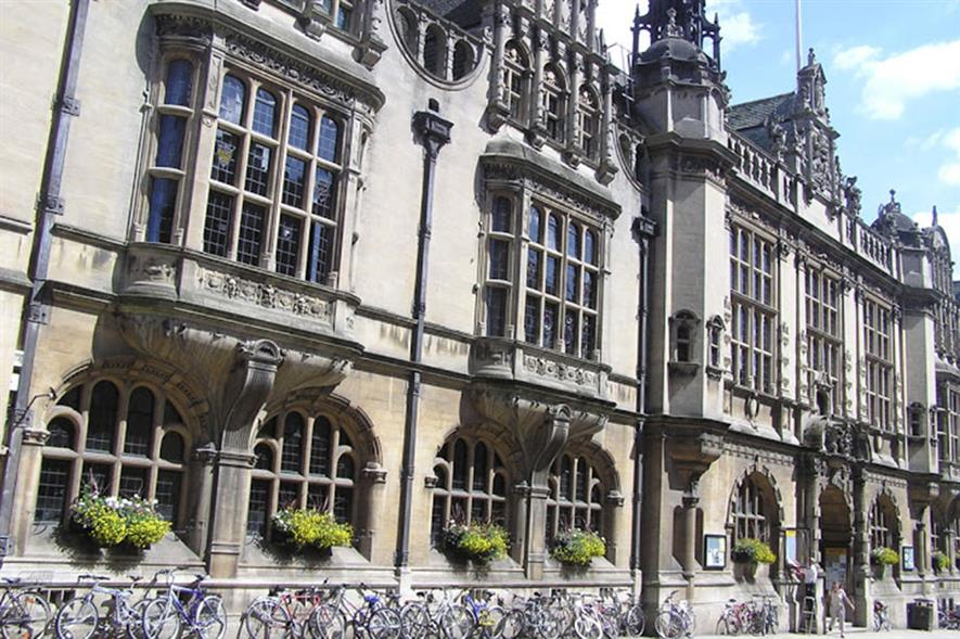 Oxford Town Hall - image: Oxford City Council