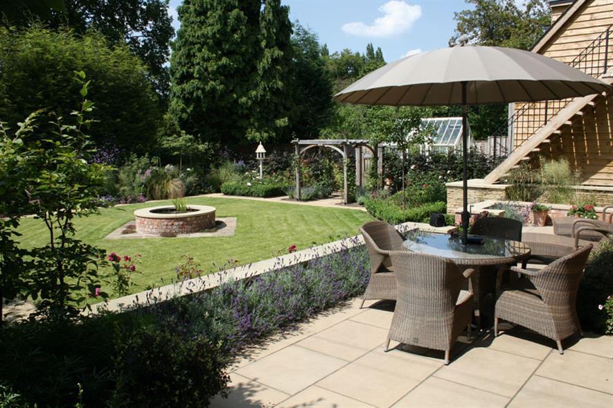 Domestic Garden Construction (cost £60K-£100K) - Designscape Private residence, Stafford ST17