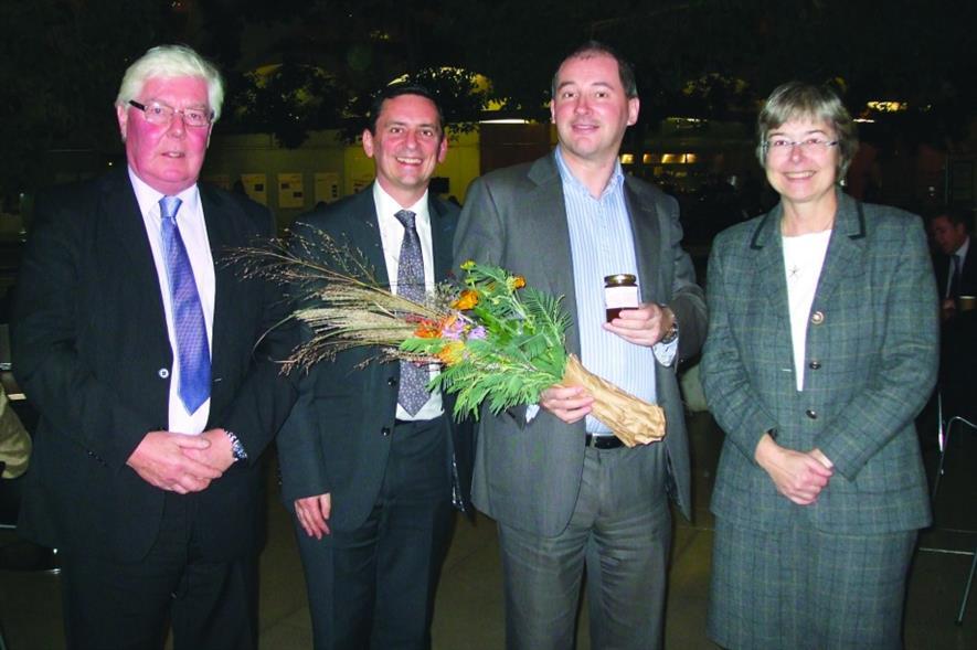 (l - r) Sid Sullivan, Mark Camley, Stephen Williams and Sue Ireland