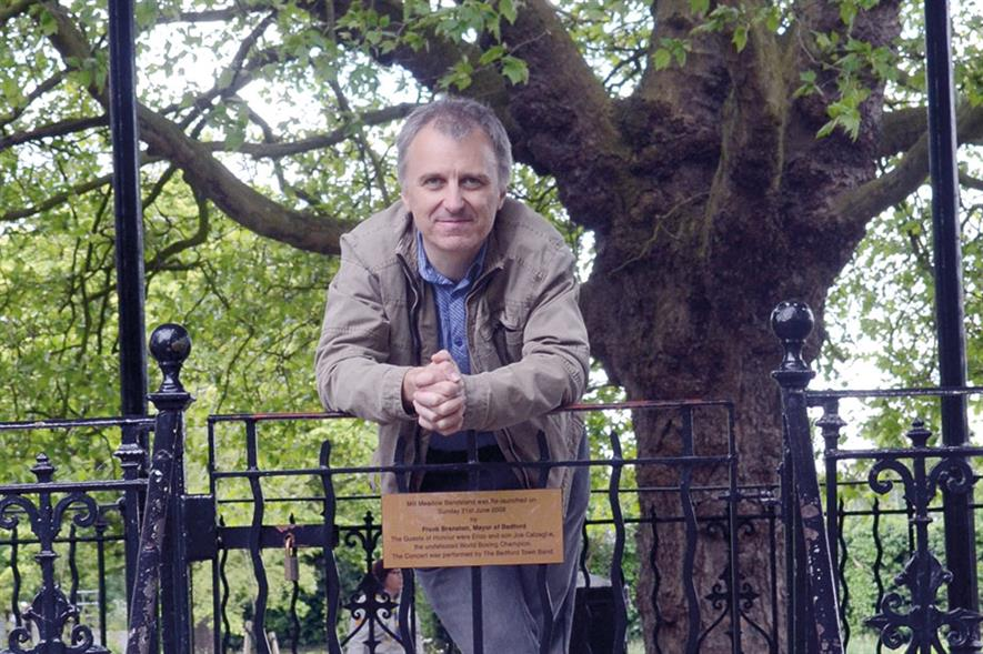 Paul Rabbitts, head of parks, Watford Borough Council - image: Watford Borough Council