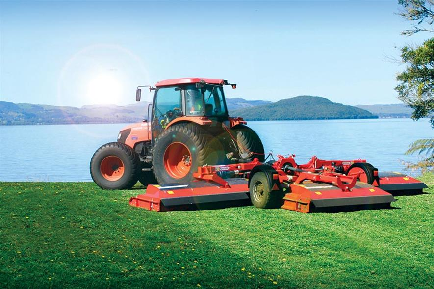 Pegasus S4: latest model is the lowest-maintenance wide-area mower from Trimax - image: Trimax Mowing Systems