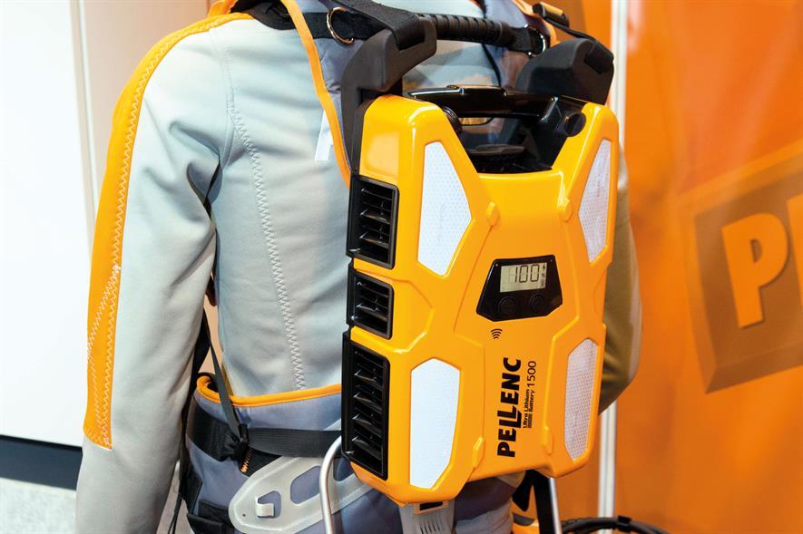 Pellenc ULB1500 battery - image: HW