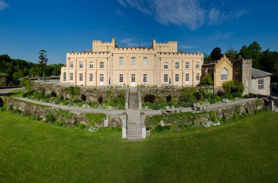 Pentillie Castle. Image: Supplied