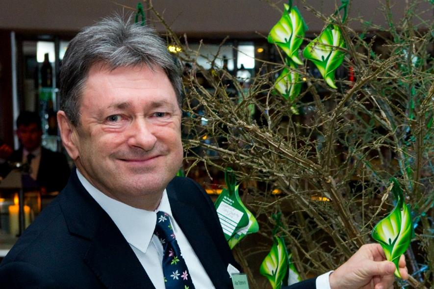 Alan Titchmarsh at the Perennial 175th birthday party