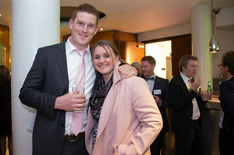 John Foley (left) with partner Kate Lawson. Picture Jonathan Ward/Ginger Horticulture with thanks