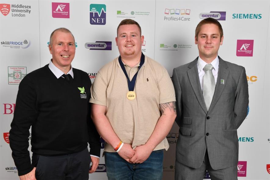 (l - r) Phil Tremayne, Adam McGarry and Simon Abbott. Image: APL