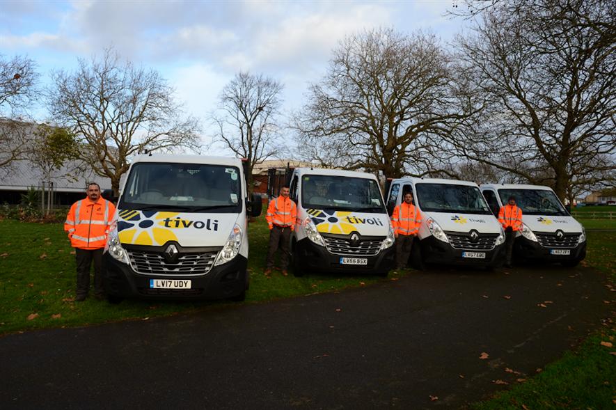 Tivoli Group has a current turnover of circa £50m with around 1,150 staff - credit: Tivoli