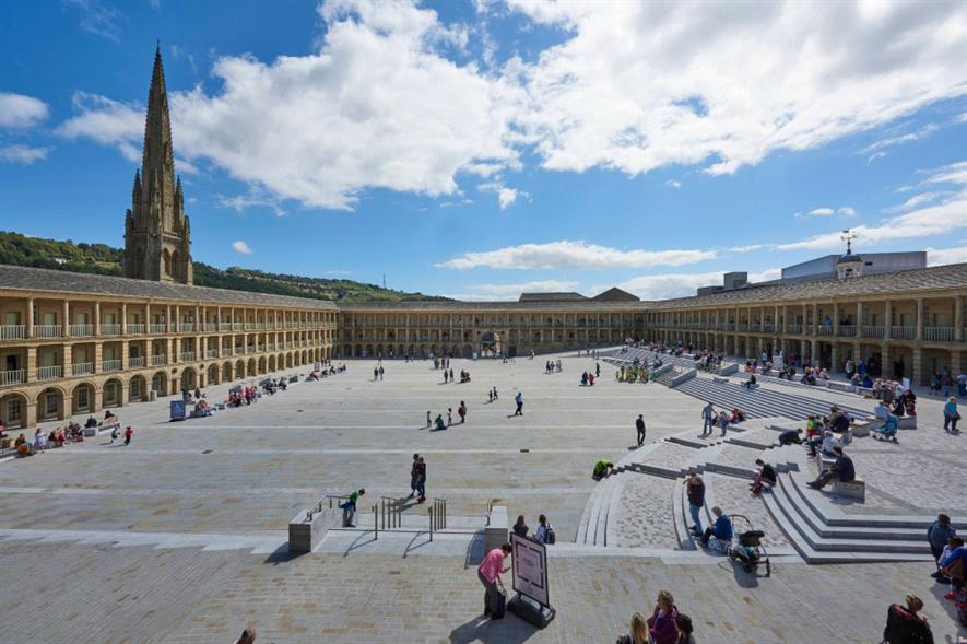 Gillespies' Piece Hall design. Image: © Paul White