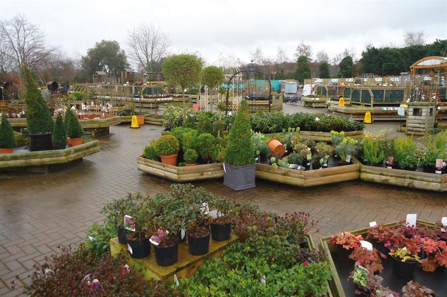 Planterias: garden centres have had a good year selling colour and instant gardens wanted by the public
