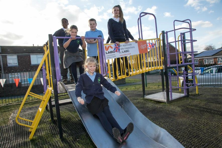 The Donnington play area opened in March. Image: apt