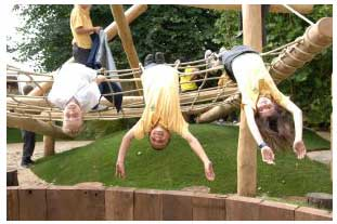 The first Groundwork Playscape project will open in Chessington this weekend - photo: Groundwork