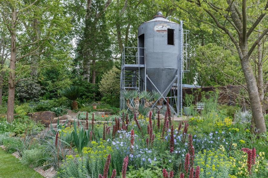 The Resilience Garden designed by Sarah Eberle - credit: RHS/Neil Hepworth