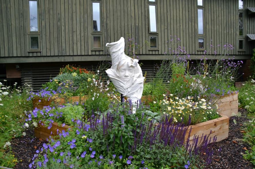 Flower Girl sculpture at the Horniman Museum and Gardens - credit: Horniman Museum and Gardens