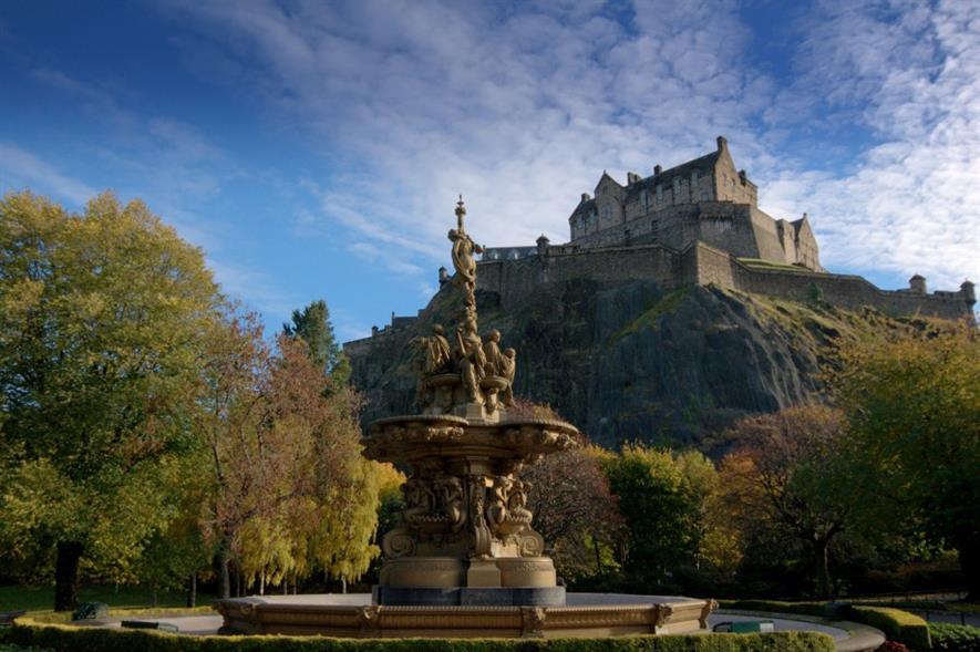 Princes St gardens, Edinburgh. Image: MorgueFile
