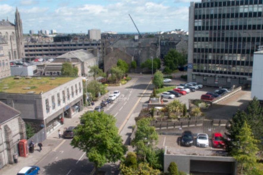 Queen Street, Aberdeen. Image: Aberdeen City Council