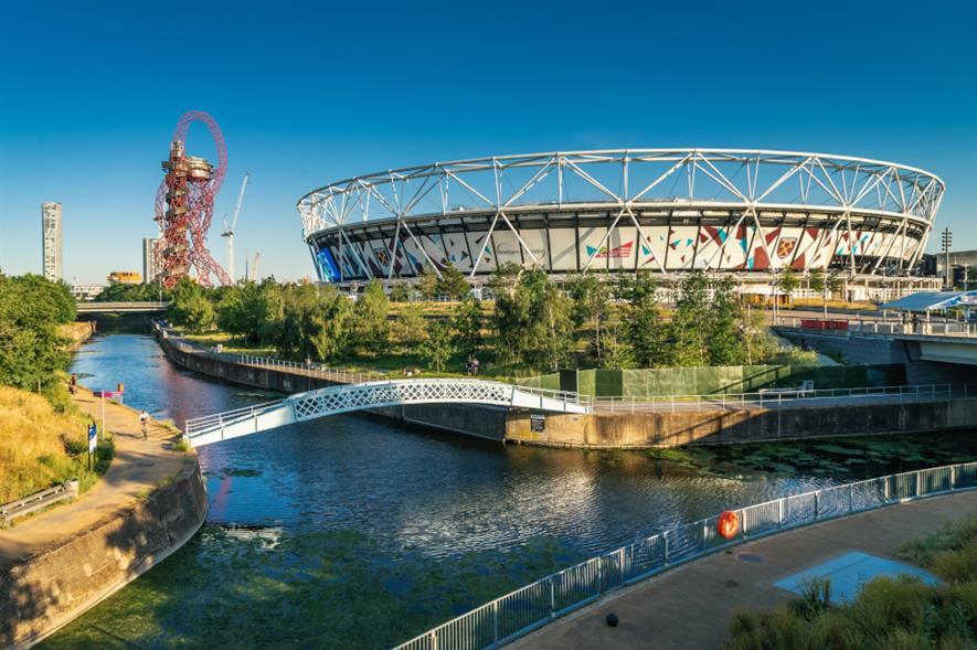 Queen Elizabeth Olympic Park - credit: London Legacy Development Corporation