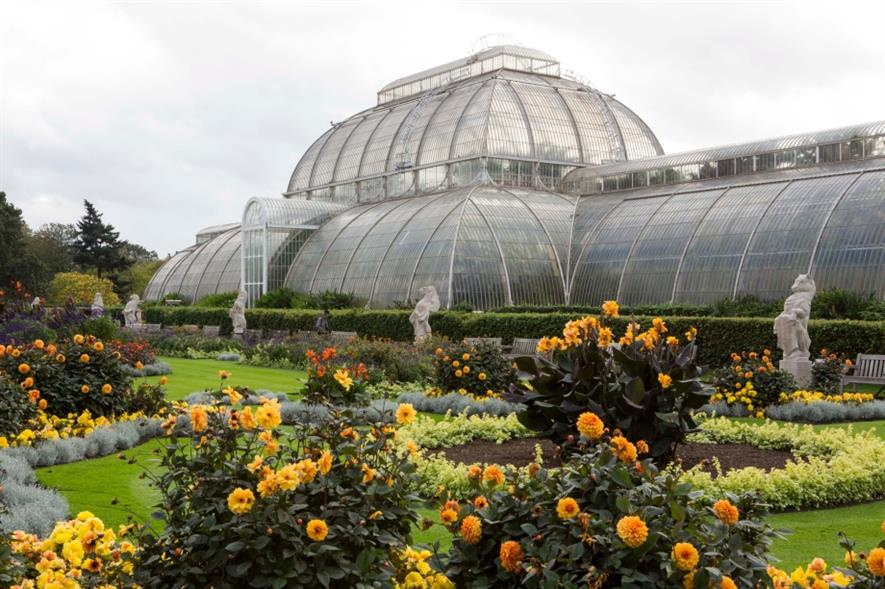 RBG Kew's much photographed Palm House. Image: HW