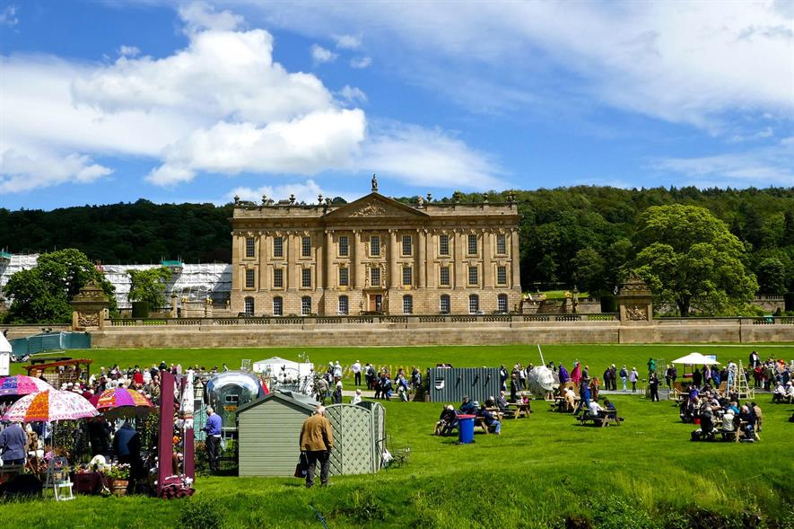 RHS Chatsworth Flower Show - image: Flickr/Herry Lawford (CC by 2.0)