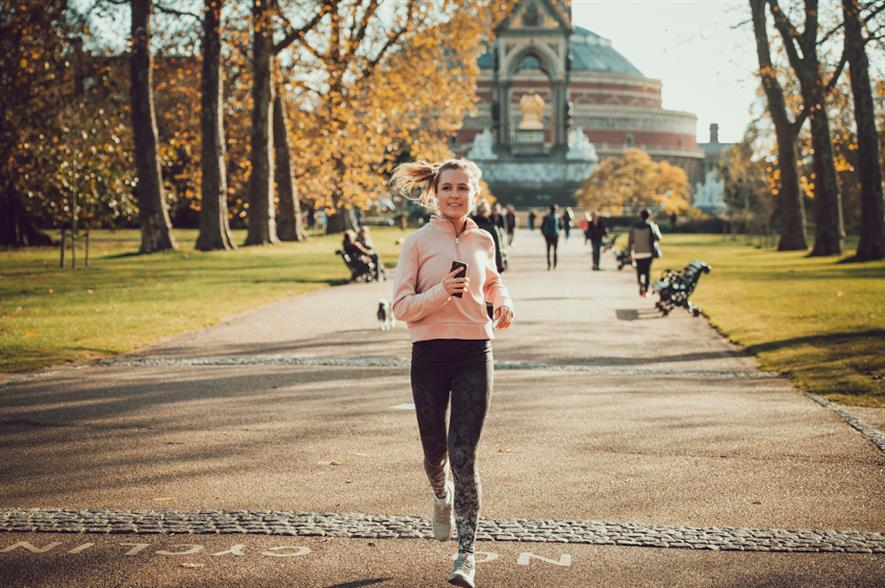 Exercising in Kensington Gardens - credit: Chris O'Donovan