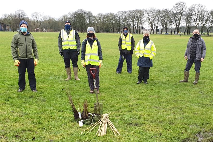 Around 400 trees will be planted at four sites across Newcastle - credit: WWTW