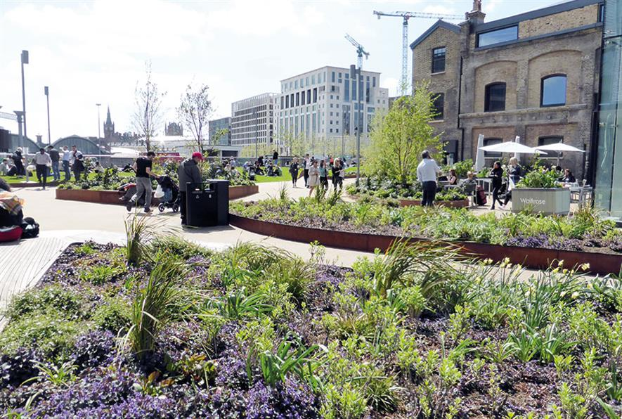 Willerby Landscapes' Regeneration of King's Cross - image: © John Sturrock