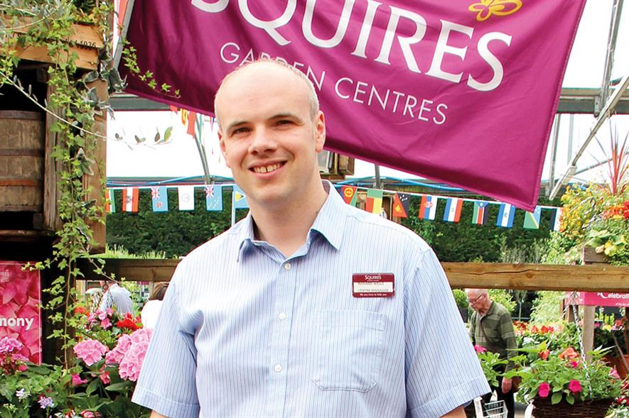Richard Wells, Centre Manager, Squire's Badshot Lea