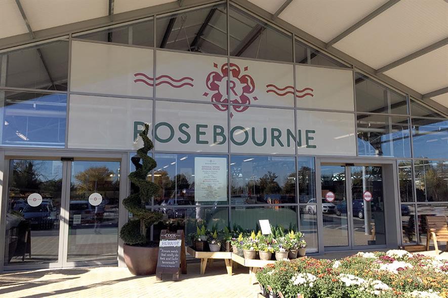 Rosebourne Aldermaston: group's second garden centre was opened in October - images: HW