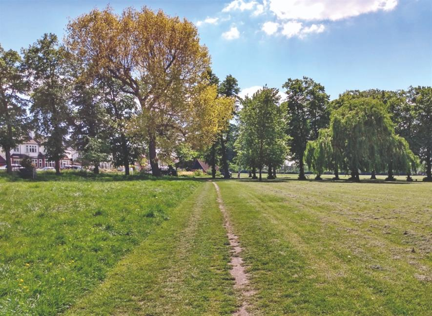 Londoners have the best access to parks. Ruskin Park, Lambeth. Image: HW