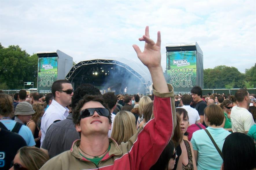 The South West Four festival. Image: Graham McLellan/Flickr