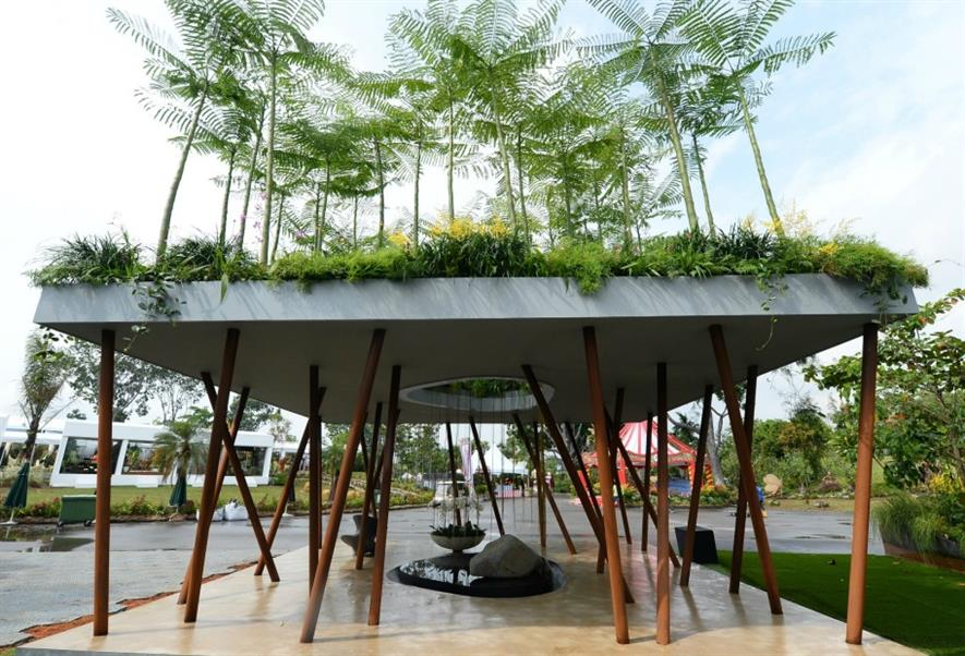 Best in Show in Singapore: Sacred Grove by Andrew Wilson and Gavin McWilliam