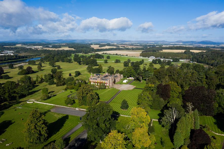 Scone Palace, Perthshire - credit: Strathmore Events Services