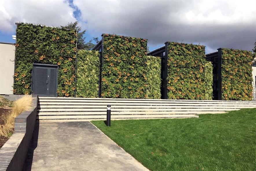 Scotscape: engaged by clients worldwide to install its living walls and green roofs - image: Scotscape