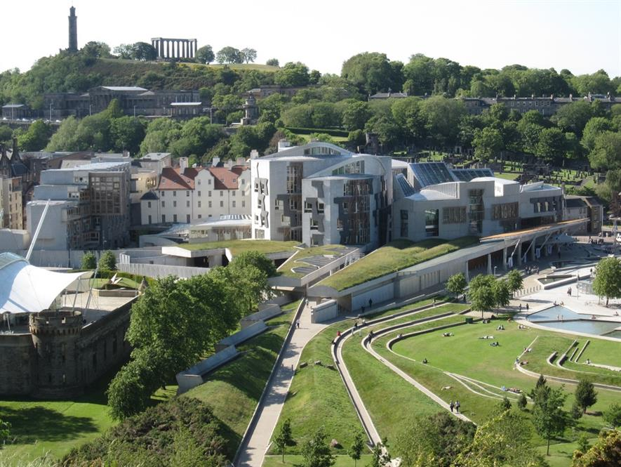 The Scottish Parliament building. Image: Bernt Rostad/Flickr/CC-by-2.0