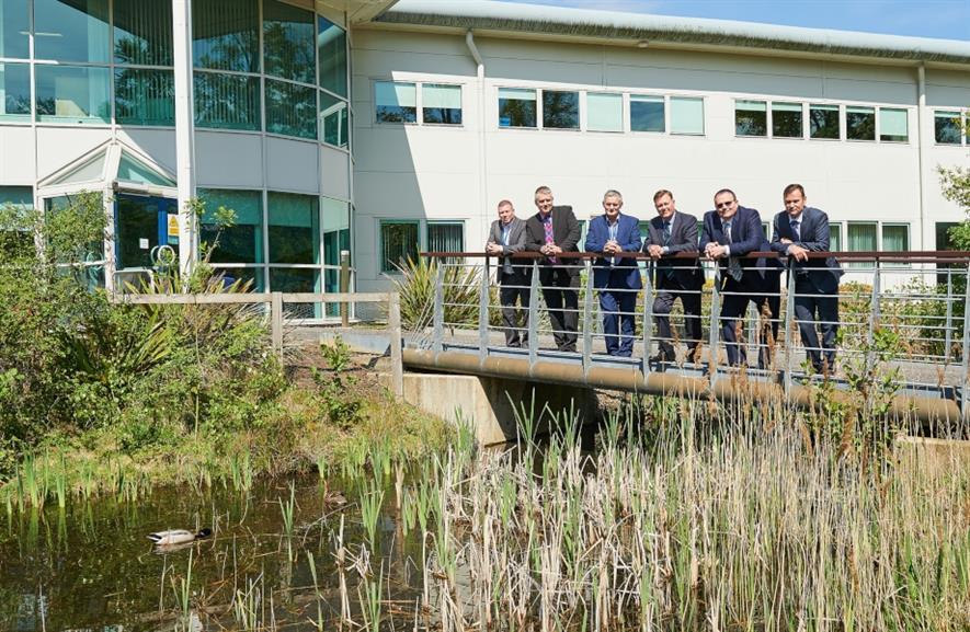 Scottish Water and Tivoli staff at Scottish Water's headquarters. Image: Tivoli