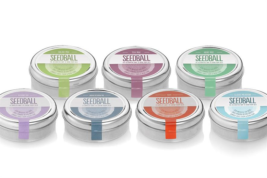 Best New Retail Product Growing - Winner: Seedball