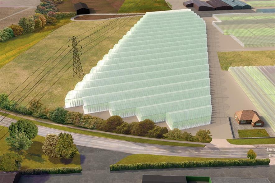 Shockingly Fresh's proposed development at Offenham, Worcs - image: Shockingly Fresh